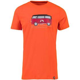 La Sportiva Van Bluzka z krótkim rękawem Mężczyźni, pumpkin